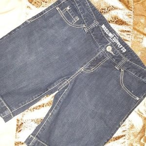 Mossimo blue Jean shorts, size 9